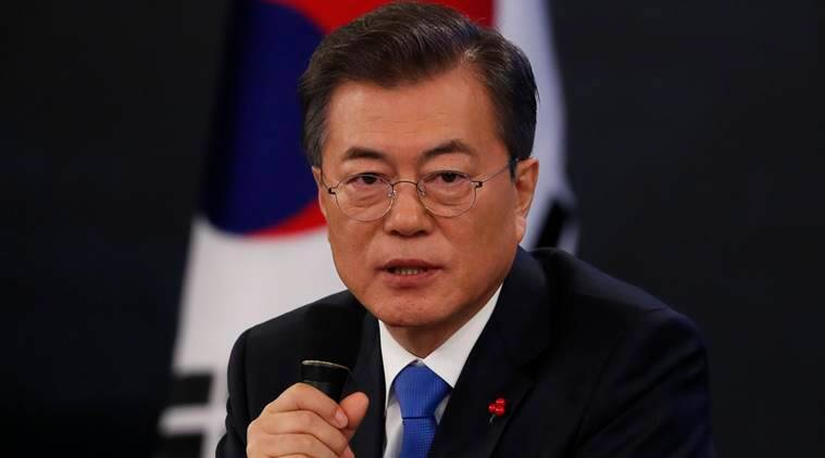 Moon Jae-in says General Motors' factory shutdown will be a blow to regional economy
