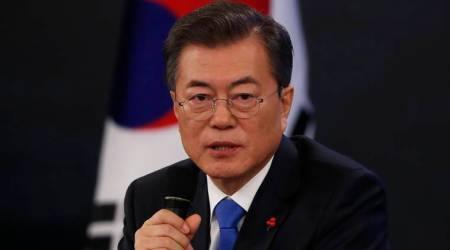 South Korea's Moon hopes inter-Korean thaw 'opens door' for nuclear talks with US