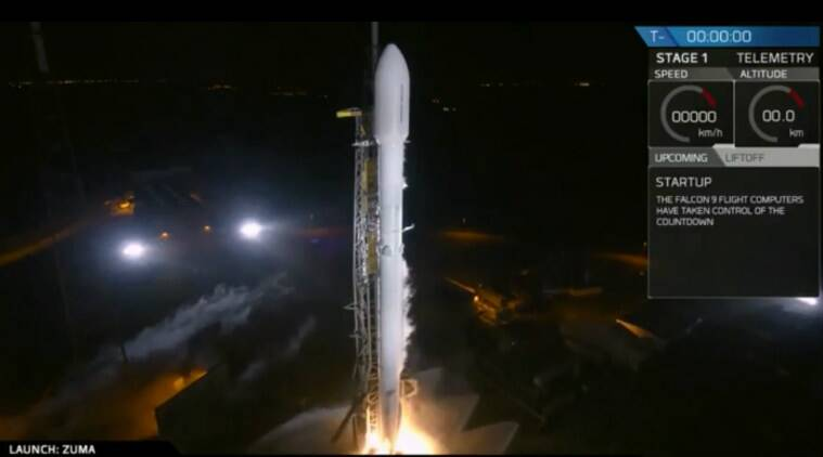 SpaceX launch, Zuma spacecraft, US defense project, Elon Musk, SpaceX Falcon 9, Northrop Grumman, SpaceX Falcon Heavy, Cape Canaveral Air Force Station