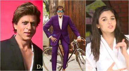 Dabboo Ratnani calendar 2018: Look out for 'sandy' Alia Bhatt and 'smoky' Shah Rukh Khan