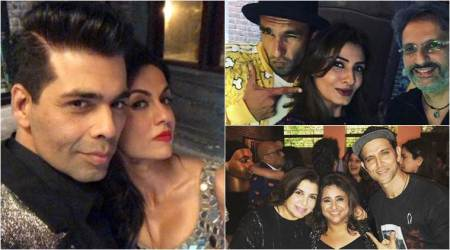 Kareena, Deepika, Ranveer and others let their hair down at Shah Rukh Khan's party for friend Kaajal Anand
