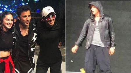 Shah Rukh Khan, Ranveer Singh and Akshay Kumar rehearse for Filmfare Awards 2018
