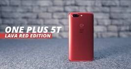 OnePlus 5T Lava Red Edition
