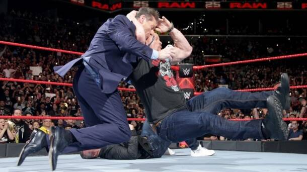 Stone Cold stunned Vince McMahon