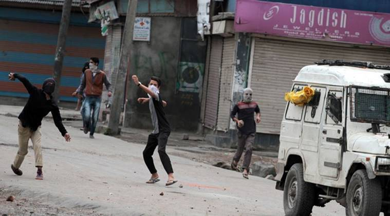 delhi court, stone pelting case, Javed Ahmed Bhat, kulgam stone pelting, nia delhi court, nia stone pelting, indian express