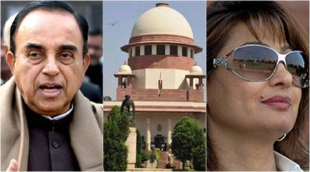 SC questions maintainability of Subramanian Swamy's plea in Sunanda Pushkar case