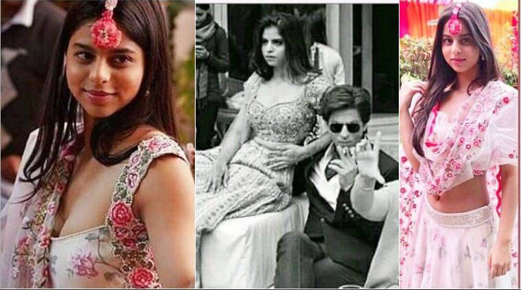 photos of suhana khan with shah rukh khan