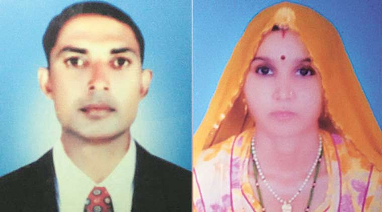 rajasthan, couple suicide, police constable suicide, rajasthan couple commits suicide, india news, indian express news