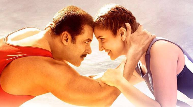 salman khan and anushka sharma in sultan