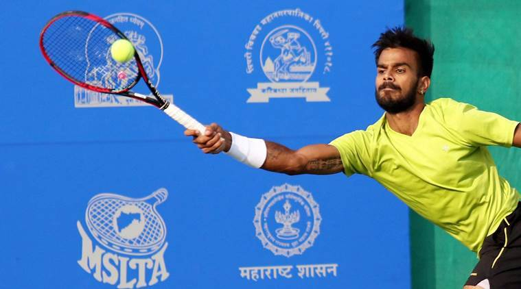 Sumit Nagal, Sumit Nagal India, India Sumit Nagal, Ilya Ivashka, Maharashtra Open, sports news, tennis, Indian Express