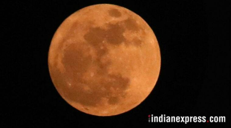 Total Lunar Eclipse Super Blood Moon And Blue Moon All Today
