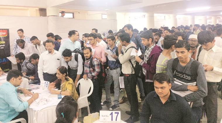 Surat job fair: 130 hired on spot, 550 shortlisted
