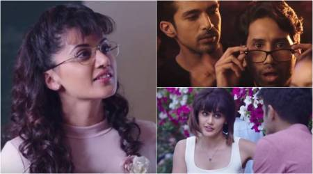 Dil Juunglee trailer: Taapsee Pannu-Saqib Saleem's film presents a typical guy dilemma – who do I love?