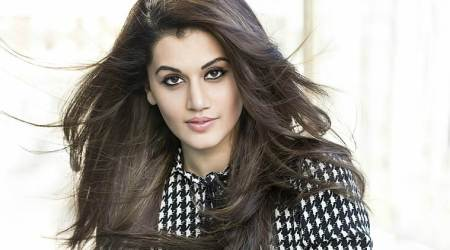 Taapsee Pannu, Taapsee Pannu latest photos, Taapsee Pannu fashion, Taapsee Pannu futiristic fashion, Taapsee Pannu sultry style, indian express, indian express news