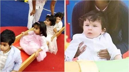 Photos of Taimur Ali Khan on a play date with Laksshya is the best thing to start your day with