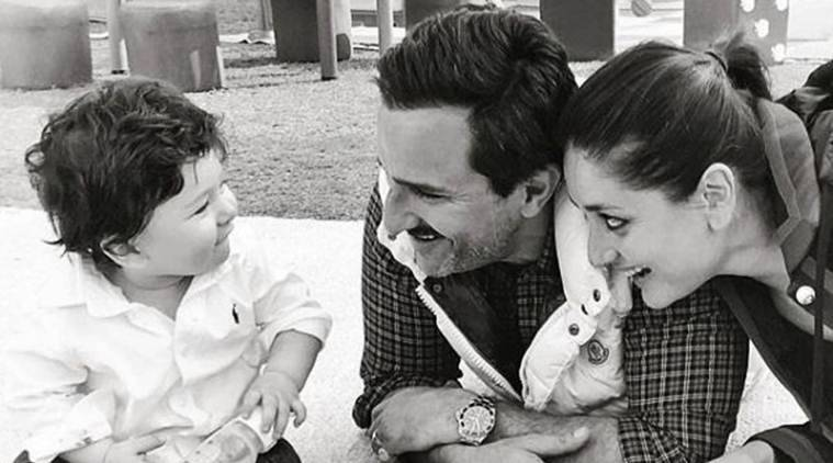 photos of taimur with kareena kapoor and saif ali khan