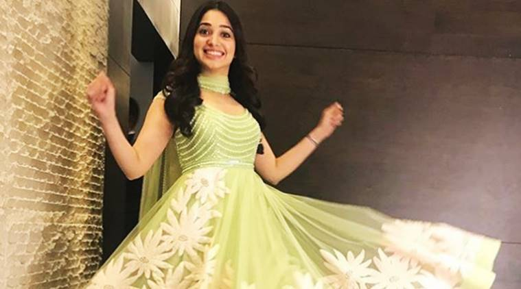 Tamannaah Bhatia, Tamannaah Bhatia latest photos, Tamannaah Bhatia fashion, Tamannaah Bhatia ethnic style, Tamannaah Bhatia Neeta Lulla, Tamannaah Bhatia latest movies, indian express, indian express news