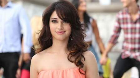 tamannah bhatia hurled with footwear