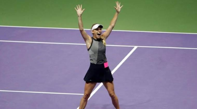 Caroline Wozniacki, Caroline Wozniacki news, Caroline Wozniacki updates, Caroline Wozniacki Auckland Classic campaign, Madison Brengle, sports news, tennis, Indian Express