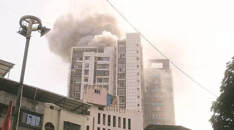 Thane fire, Mumbai fire, Thane highrise, Thane Municipal Corporation, Indian Express