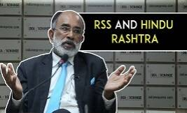 RSS Is Not In Power, The BJP Is: Union Minister K J Alphons On RSS & Hindu Rashtra