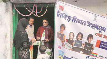 At heart of immunisation drive, mobilisers who earn Rs 75 aday