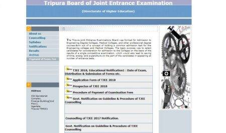 TJEE 2018: Eligibility criteria, exam pattern and registration details