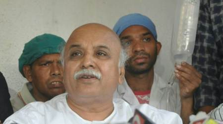 Gujarat: Pravin Togadia escapes unhurt as truck hits his car, driver held