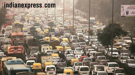 Delhi traffic signals to give air quality update everyhour