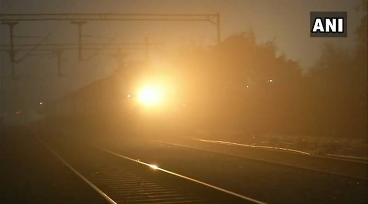 Dense fog disrupts train, flight operations in Delhi