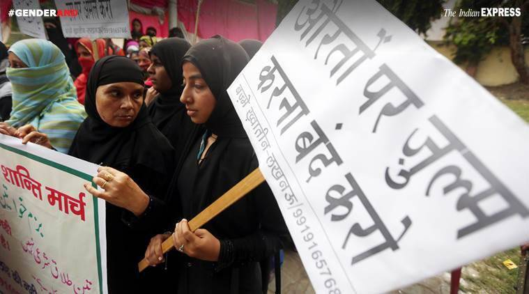Triple Talaq, Opposition, Supreme Court, Triple Talaq debate, Triple Talaq judgement, Gender And, GenderAnd series, Indian Express Gender series