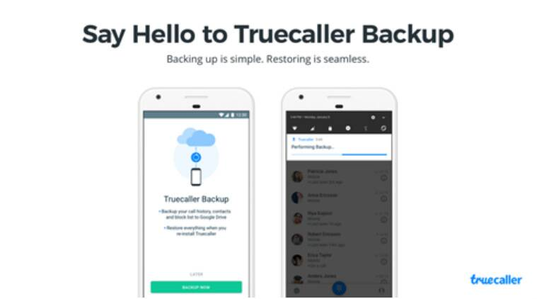 Treucaller Backup feature, Truecaller call logs, Truecaller Contact list, Truecaller Google Drive backup, Google Drive accounts, Trucaller data storage, Truecaller Android app