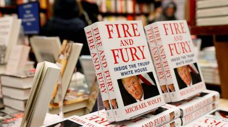 'Fire and Fury' about Trump's White House sells big 2nd week