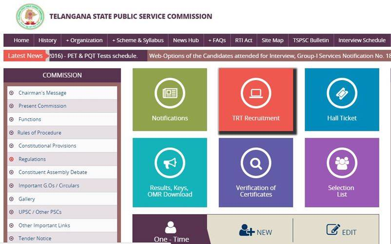 tspsc, tspsc.gov.in, govtjobs, telangana government jobs