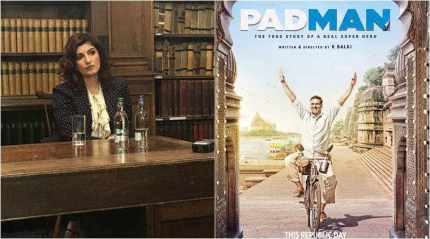 Twinkle Khanna: Hope PadMan becomes a movement where women are no longer shamed by their biological functions