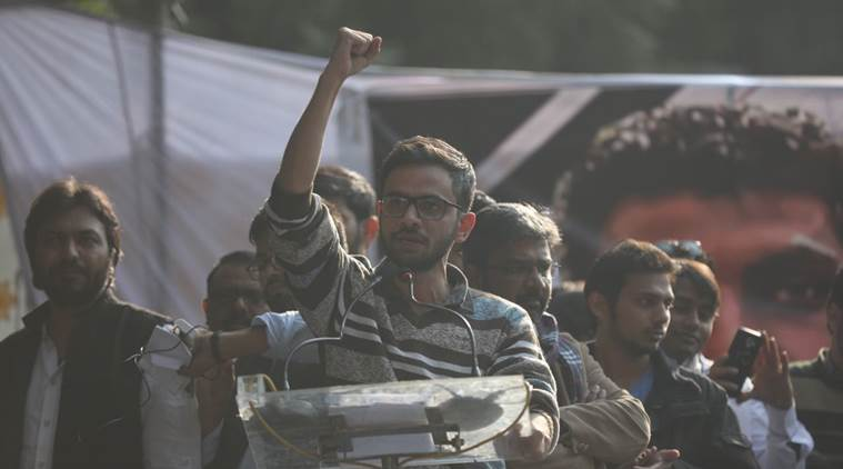 JNU student leader Umar Khalid files police complaint over death threats