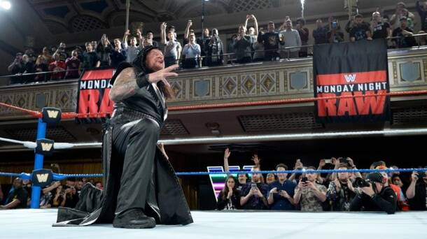 The Undertaker returned to WWE on Raw's 25th anniversary