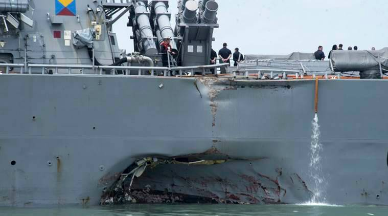 US Navy ship collisions prompt rare criminal charges