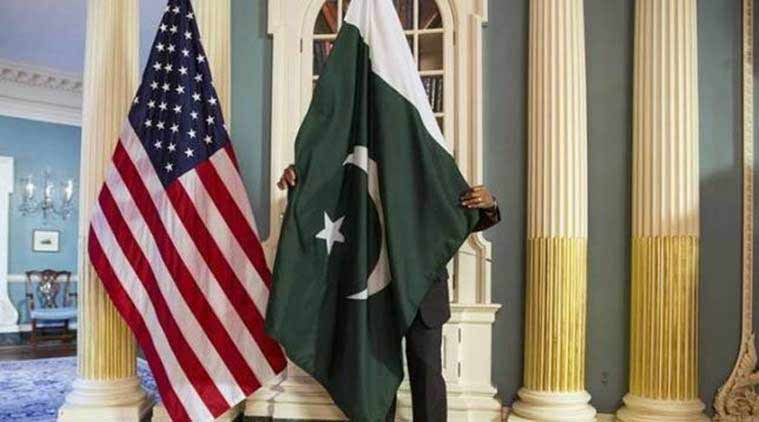USA  suspends security assistance to Pakistan class=