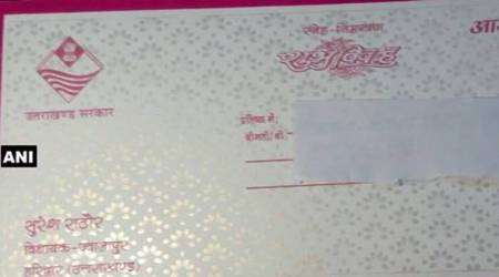Uttarakhand BJP MLA uses government logo on wedding invite. His defence: 'I am part of govt'