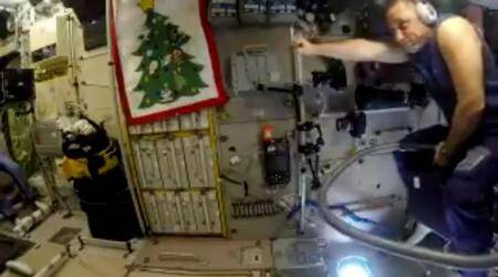 VIDEO: Do vacuum cleaners fly in space? This Russian astronaut rides one to check