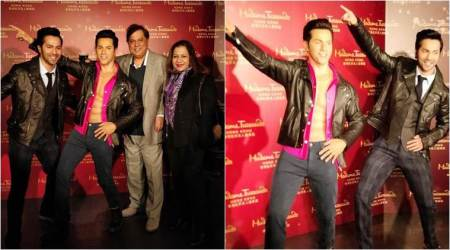 Varun Dhawan unveils his wax statue in Madame Tussauds Hong Kong. See photos