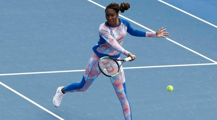 Venus Williams crashes out in the first round of the Australian Open