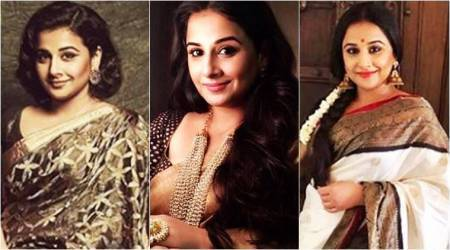 Happy Birthday, Vidya Balan: 5 beautiful 'sari moments' of the actor from 2017