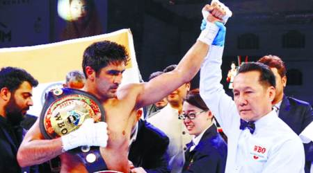 Vijender Singh eyes third belt in Pro Boxing in April