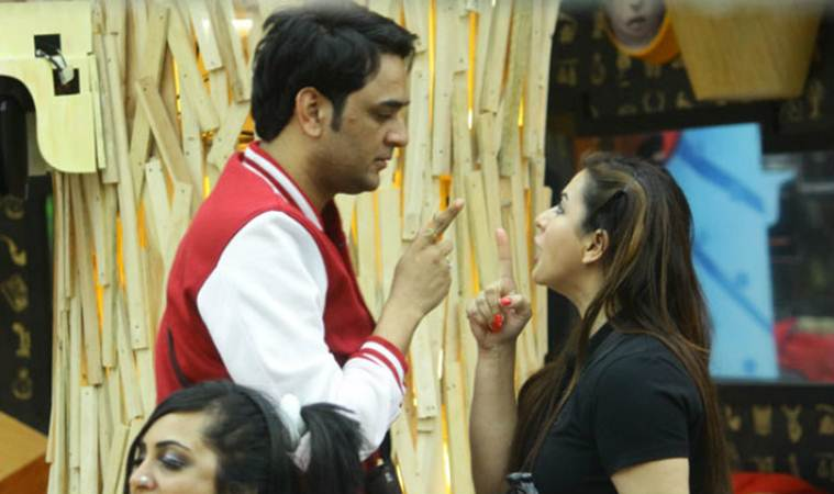 vikas gupta and shilpa shinde fight in bigg boss 11