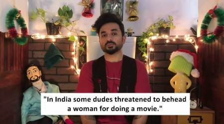 Comedian Vir Das wraps up 2017; Twitterati love his biting sarcasm