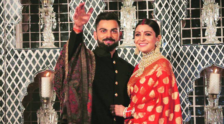 Anushka Sharma, Sabyasachi, Banarasi sari, Virat Kohli, wedding reception sari of Anushka Sharma, Indian Textiles, traditional craft of India, Indian express, Indian express news