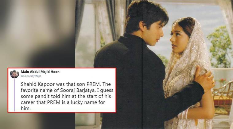 shahid kapoor, amrita rao, alok nath, vivah, vivah review, vivah funny review, pakistani funny vivah review, funny twitter thread about vivah, indian express, indian express news