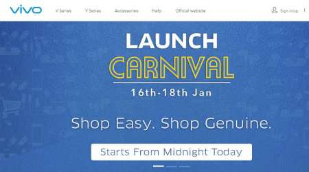 Vivo announces Launch Carnival on E-store: Get 100GB free Vodafone data, cashback and more